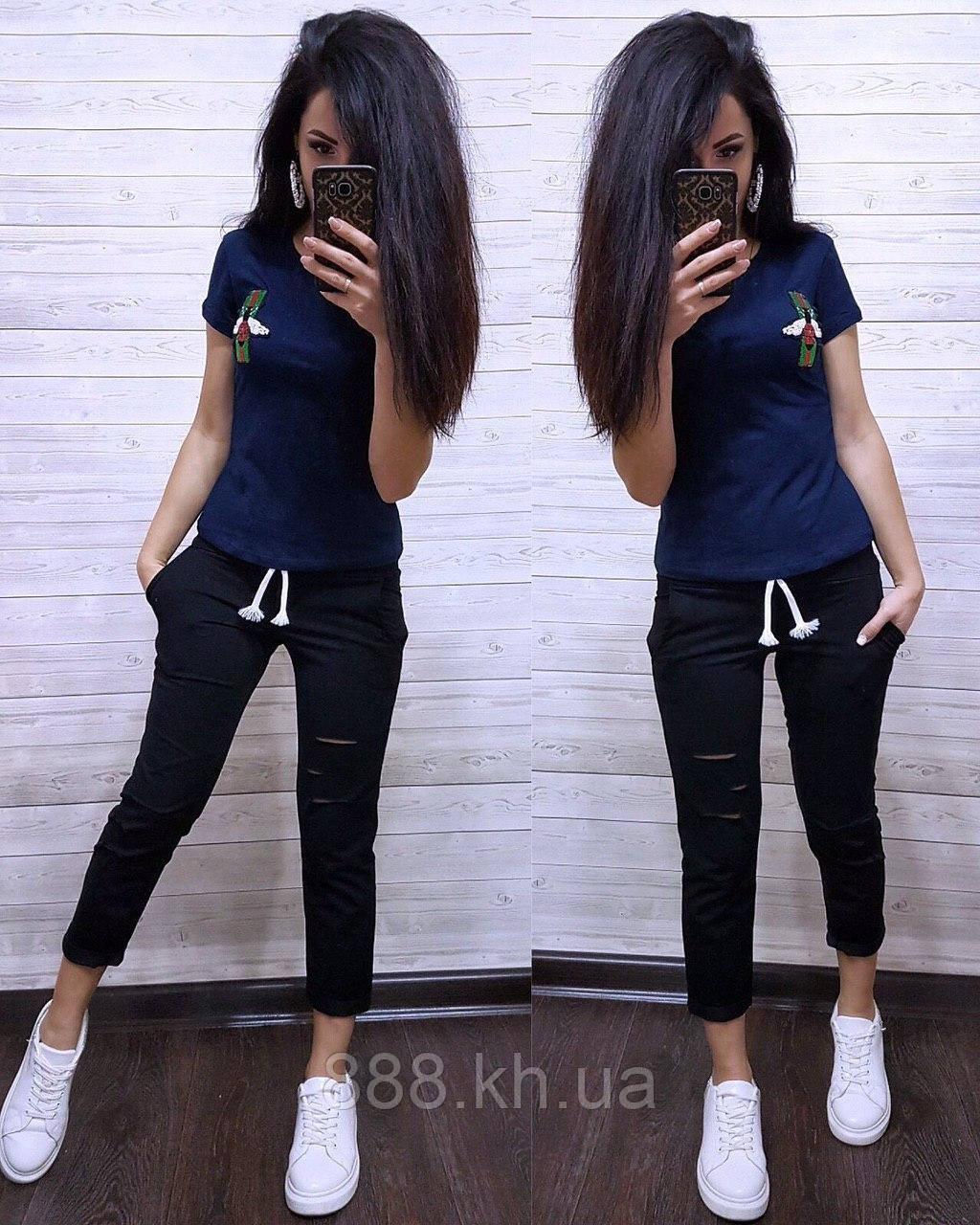 Стильная женская футболка Gucci S/M/L/XL
