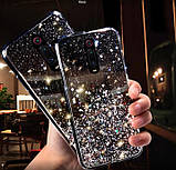Блестящий чехол с серебряной фольгой Xiaomi Redmi 8, фото 2