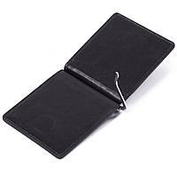 Зажим для денег кожаный черный Eminsa 1075-20-1