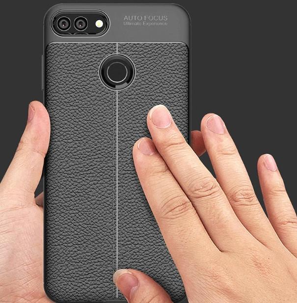 Защитный чехол-накладка под кожу для Huawei Y7 Prime (2018)