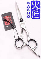 Профессиональные парикмахерские ножницы для стрижки волос KASHO прямые 6.0.