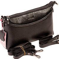 Женская сумка кожаная BUTUN 3107-004-001 кросс-боди черная