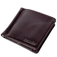 Зажим для денег Eminsa 1105-19-3 кожаный темно-коричневый