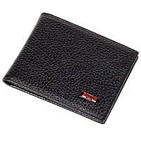 Мужской кошелек на магнитах BUTUN 243-004-001 кожаный черный