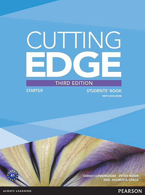 Cutting Edge 3rd Edition Starter Student's Book with DVD-ROM (Class Audio+Video DVD)