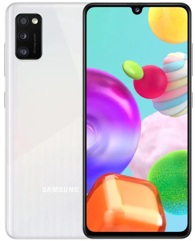 Смартфон Samsung Galaxy A41 4/64Gb White (SM-A415FZWDSEK) UA