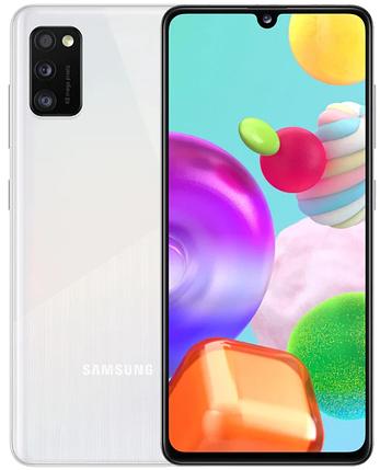 Смартфон Samsung Galaxy A41 4/64Gb White (SM-A415FZWDSEK) UA, фото 2