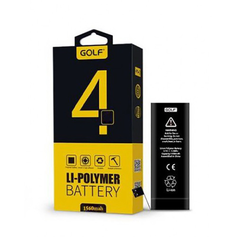 Аккумулятор Golf Li-polymer для Apple iPhone 4 Battery 1420 mAh
