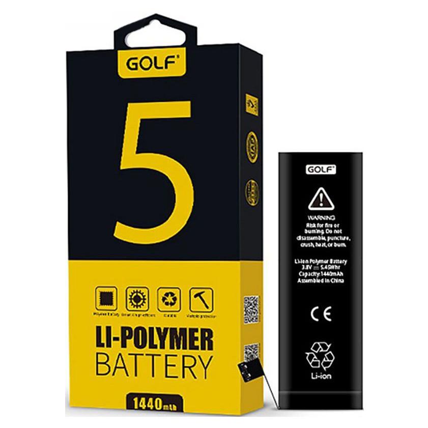 Аккумулятор Golf Li-polymer для Apple iPhone 5 Battery 1440 mAh