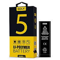 Аккумулятор Golf Li-polymer для Apple iPhone 5 Battery 1440 mAh, фото 1