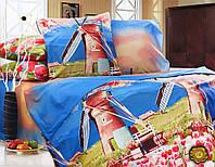 Семейный постельный комплект из ранфорса