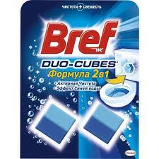 Чистящие кубики для унитаза бреф Bref Дуо-Куб ,100 г