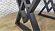 Стол обеденный «Астон » Metal Design, фото 2