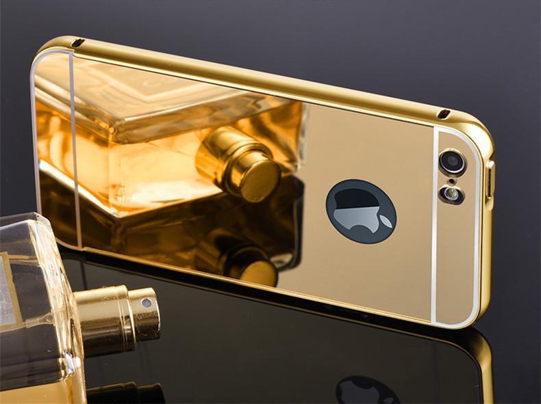 Алюминиевый чехол бампер для iPhone 5/5s/Se