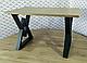 Стол обеденный «Астон » Metal Design, фото 3