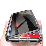 Магнитный чехол со стеклянной передней и задней панелью для Xiaomi Mi A3, фото 2