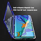 Магнитный чехол со стеклянной передней и задней панелью для Xiaomi Mi A3, фото 7