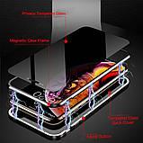 Магнитный чехол со стеклянной передней и задней панелью для Xiaomi Mi A3, фото 8