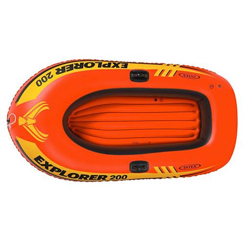 Лодка Intex 58330 Explorer 200 грузоподъемностью до 95 кг двухместная