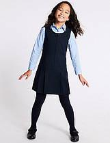 Школьный сарафан темно-синий на девочку 6-7-8-9-10  лет Marks&Spencer (Aнглия)