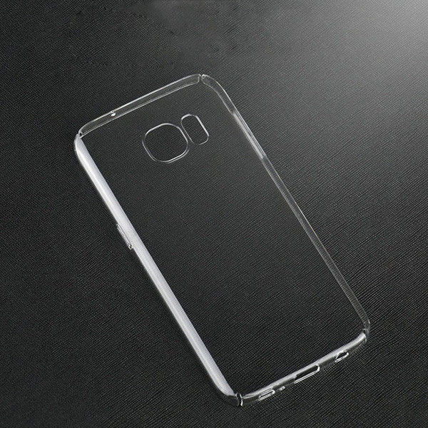 Силиконовый чехол прозрачный для Samsung Galaxy S7
