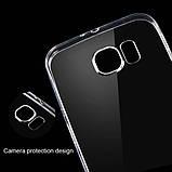 Силиконовый чехол прозрачный для Samsung Galaxy S7, фото 2