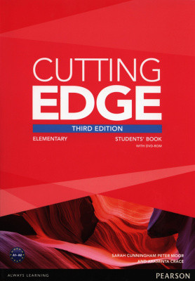 Cutting Edge 3rd Edition Elementary Student's Book with DVD-ROM (Class Audio+Video DVD)