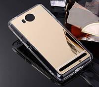 Зеркальный силиконовый чехол для Huawei Y3 II (LUA-U22)