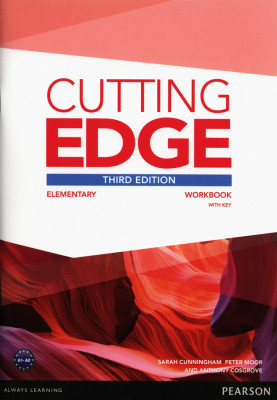 Cutting Edge 3rd Edition Elementary Workbook with Key & Audio Download