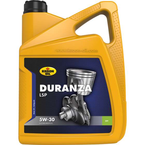 МОТОРНОЕ МАСЛО СИНТЕТИКА Kroon-Oil Duranza LSP 5W30 (5L) Jaguar Land Rover Ford Renault