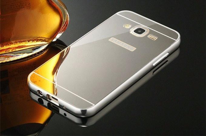 Алюминиевый чехол бампер для Samsung Galaxy J5-J500H (2015 год)