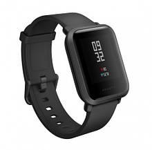 Умные часы Xiaomi Amazfit Bip GPS Smartwatch  Глобальная версия Black