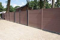 Забор из древесно-полимерного композита, фото 1