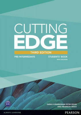 Cutting Edge 3rd Edition Pre-Intermediate Student's Book with DVD-ROM (Class Audio+Video DVD)