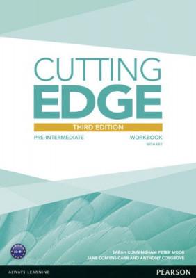 Cutting Edge 3rd Edition Pre-Intermediate Workbook with Key & Audio Download
