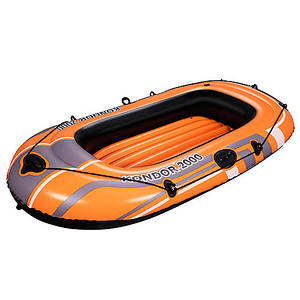Лодка Bestway Hydro-Force 61100 надувная полутораместная