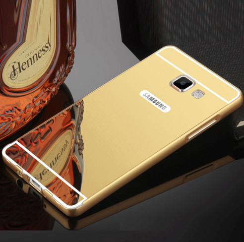 Алюминиевый чехол бампер для Samsung Galaxy A5/A520 (2017)