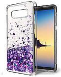 Чехол-накладка (Жидкий Блеск) для Samsung Galaxy S7 edge, фото 4