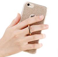 Блестящий чехол с кольцом держателем для Huawei P Smart