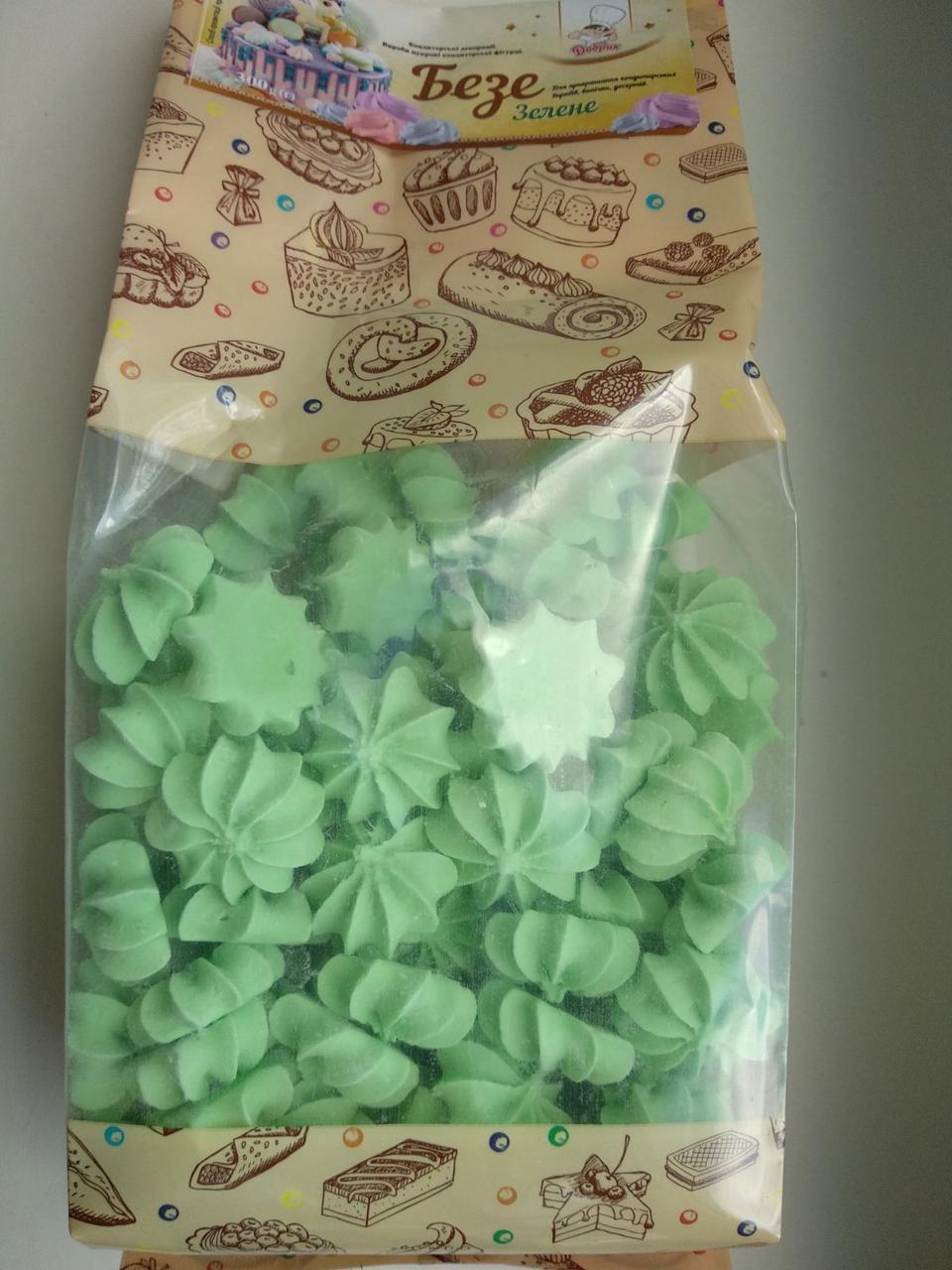 Кондитерский декор Добрик Безе 300 грамм Зеленый