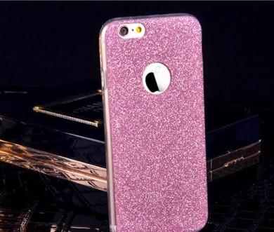 Силиконовый чехол  блеск к Iphone 6/6S