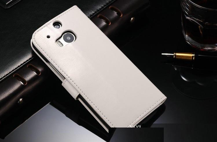 Чехол книжка для  HTC One M8 Белый