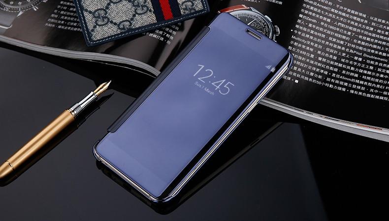 Чехол-книжка с зеркальной поверхностью Samsung Galaxy S6