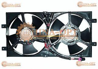 Дифузор радіатора (в зборі з вентиляторами)