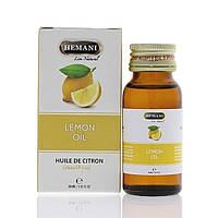 Масло лимона Hemani 100% натуральное качественное 30 мл. производства Пакистан