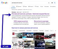 Комплексная реклама автосалонов