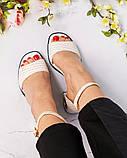 Шикарные женские  босоножки на каблуке, фото 7