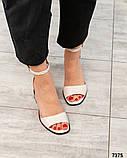 Шикарные женские  босоножки на каблуке, фото 9