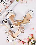 Шикарные женские  босоножки на каблуке, фото 10