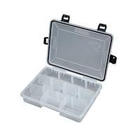 Водонепроницаемая рыболовная Коробка пластмассовая SALMO WATERPROOF 23 x 18 x 5 см 1501-04 для приманок